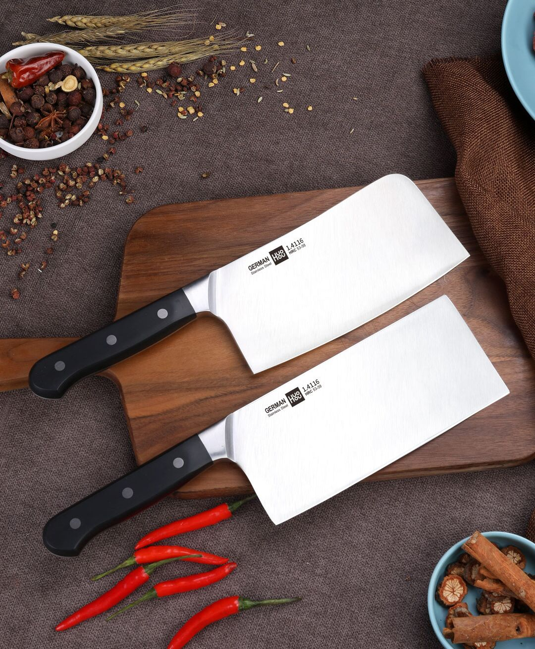 Кухонный нож Xiaomi Huo Hou Fire Molybdenum Vanadium Steel Kitchen Knife